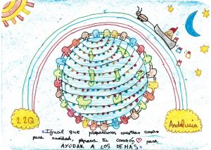 Dibujo de Ángela